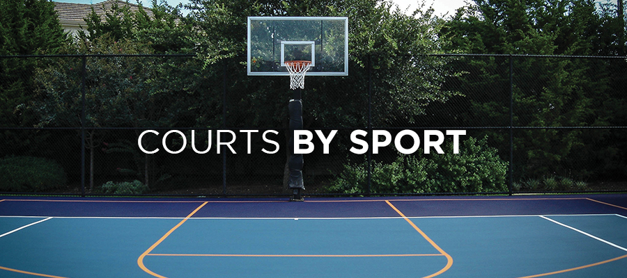 Court Surfaces for multiple sport.