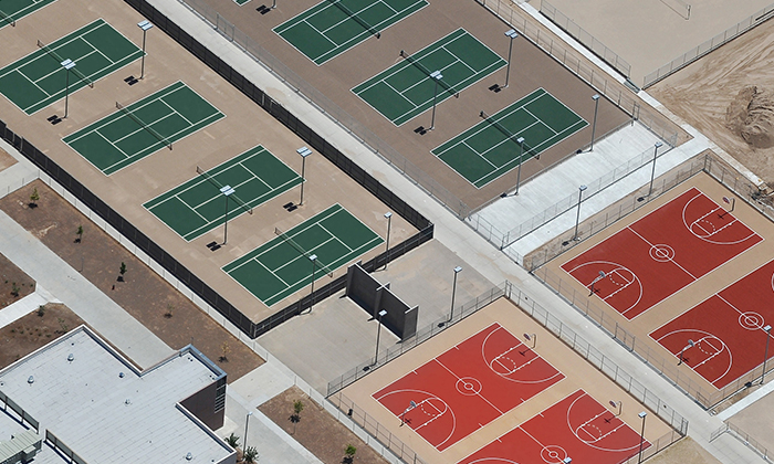 Courts By Sport